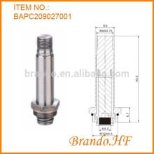 Operador del solenoide del tubo del acero inoxidable de 9m m para la válvula del dispensador de la bebida