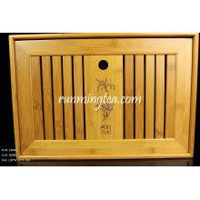 Projeto de tabela de bambu do chá grande