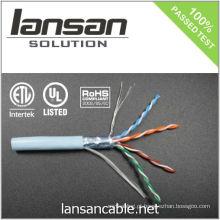 4PR 24AWG FTP CAT cabo 5e / cabo em massa / cabo de dados / cabo Ethernet / cabo LAN, 100Mhz / PVC / LSOH