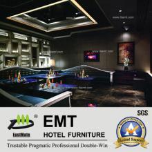 Conjunto Moderno de Sofa de Club de Noite (EMT-KTV03)