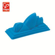 Hape Mini plastic play sets Opera House beach sand toys