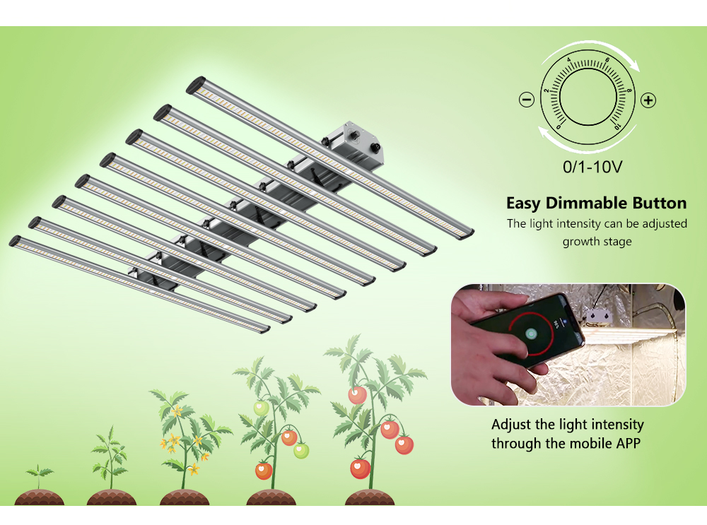 LED Grow Light Bar (8)