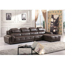 High Quality Leather Sofa, L Shape Sofa Set (882)