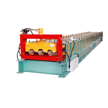 BARU Produk Metal Decking Roll Forming Machine