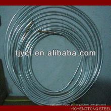 Tubo de alumínio enrolado panqueca tubo de alumínio de ar condicionado