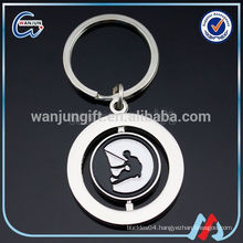 Promotional brass turbo key chain for promotional gifts
