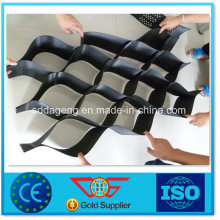 Géocellé HDPE perforé texturé / lisse avec Ce