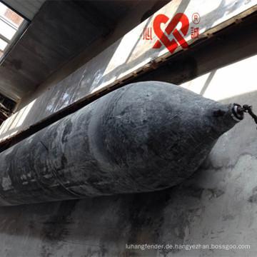 Hoher Auftrieb u. Hohe Leistung SGS CCS CCC Bescheinigung Marinegummiairbag für das Schiffstarten und das Anheben