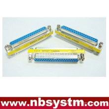 Db37 pin weiblich zu weiblicher adapter, geschlechtswechsler blau