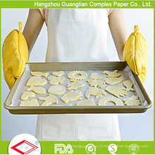 Papier de cuisson siliconé double face 45 X 75 cm de l'usine