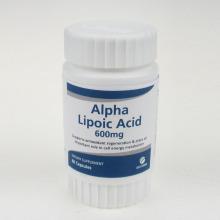 Antioxydant Alpha Lipoic Acid Capsules 600mg