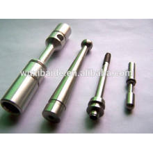 Precision flexible drill shafts cnc stainless steel custom non-standard transmission shaft