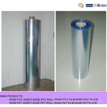 Super Clear Hart-PVC-Folie für Blisterpackung