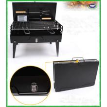 Gril à charbon portable pour barbecue de cuisson en plein air