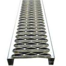 Galvanized Metal Walkway Steel Grating / Expendable Metal Grating