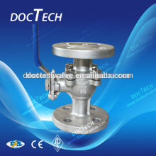 2 inch/ DN50 PN16/PN40 GB Flange Ball Valve With High Mounting Pad Good Quality