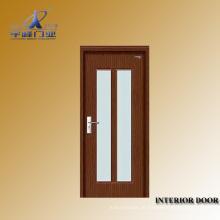 Portas de vidro coloridas de madeira interiores