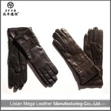 Las señoras ZF5566 visten nuevos guantes de la mano del invierno de la manera