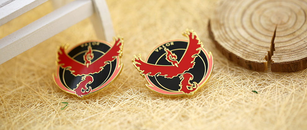 Anna Artwares Valor Lapel Pin