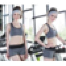 Heiße reizvolle nahtlose Unterwäsche-Sport-BH für Mädchen