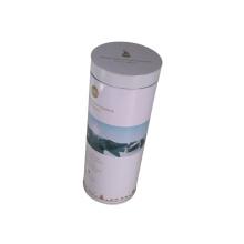 Weinbox Plastikdeckel Runde Zinn Verpackung für Promotion