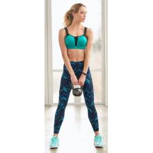 Perneiras de comprimento total de senhoras com leggings de Yoga de bolsos