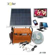 Sistema casero de prácticos CE energía solar, generador de energía solar