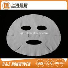 nonwoven microfiber facial mask sheets 60gsm white color hotsale