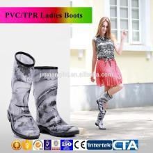 new design fashion ladies rain boots