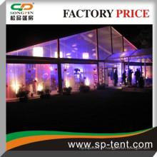 Doublure de décoration intérieure mariage événement party marquee à vendre 20x30m