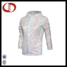100% Polyester Femme Veste de sport Veste de course personnalisée