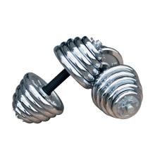 Hotsale Sport 10kg 20kg 30kg Ajustable Cromo Dumbbell Set