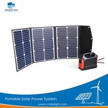 DELIGHT DE-PS 60W Sistema de energía solar portátil Inicio
