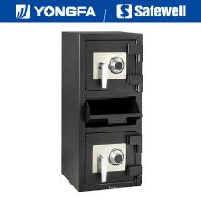 Painel de Safewell Ds 32 polegadas de altura depósito seguro para banco de cassino de supermercado
