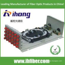 Caja de pared ODF FC12 con adaptadores y coletas