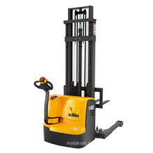 Xilin straddle electric walkie pallet lift stacker forklift 1000kg 2200lbs