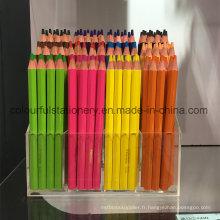 Crayons de couleur 12PCS cadeau promotionnel à vendre