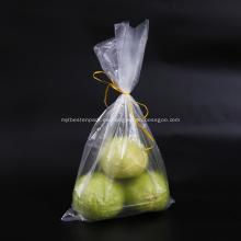Bolsa transparente de almacenamiento de alimentos para frigorífico-congelador