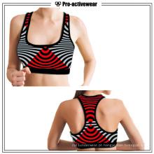 Four-Way Stretch Vestuário Esportes Wholesale Yoga Bra para as Mulheres