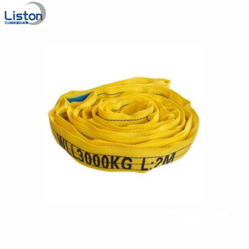 CE Aprovado 10ton Polyester Round Bloodbing Sling