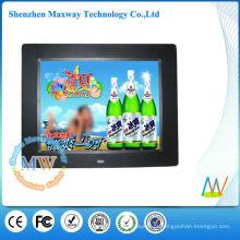 porta-retrato digital Slim 8 polegadas lcd com vídeo
