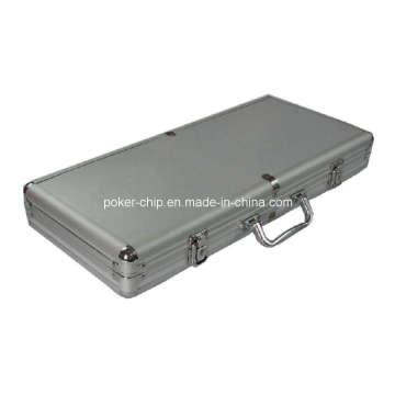 400PCS Poker Chip Set in Plain Surface Aluminum Case (SY-S24)