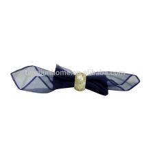 Gelbe Schale Hochzeit Serviette Ring