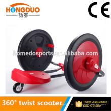 3 ruedas Twist Scooter Kick Scooter (Informe de Prueba CE)