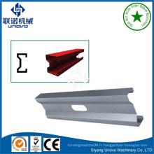 Jiangsu unovo steel cold formé w section