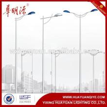 Lampe en acier galvanisé prix du poteau lumineux