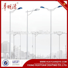 Hot Rolled Steel light lamp column pole