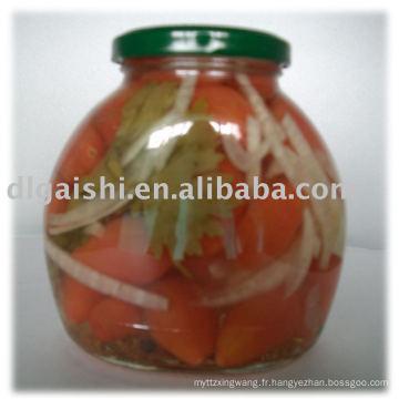 Tomate cerise douce en conserve