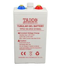 OPZV 2V 100AH Solar battery