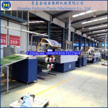 Línea de máquina plástica de producción de césped artificial